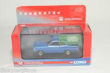 . VANGUARDS VA 08707 VAUXHALL VIVA GT LE MANS BLUE MINT BOXED