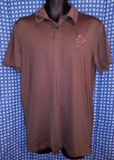 Ohio State Buckeyes Hockey Gray Nike Golf Dri-Fit Polo Shirt EUC - Mens M