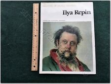 ALBUM book MASTERS WORLD PAINTING Art Ilya Repin Collection PAINTINGS reproduced