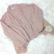 New KNOX ROSE Women's Blush Cardigan, Size Small