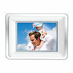 "COBY 7"" DIGITAL PHOTO FRAME WITH MP-3 PLAYER Model DP-772"