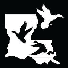 La. State ducks vinyl decal,ducks unlimited,