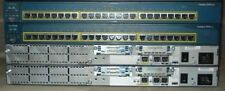CISCO CCNA LAB 2x 2650 32/128 Routers 2x 2950 SWITCHES