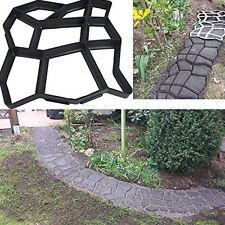 Garden Tools Mold for Concrete DIY Stone Plastic Mold Pathways for Garden