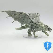 Young Adult White Dragon - Icewind Dale Rime of Frostmaiden #43 D&D Huge Mini
