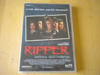 Ripper Lettera dall'inferno DVD horror Cook Payne Keim lingua italiano inglese