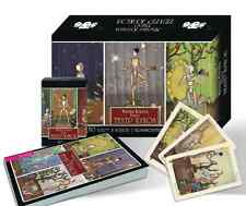 """New Tarot """"Puppet Theatre"""" by Maria Kurara (80 cards + booklet in a Gift box)"""
