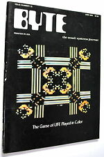 Rare Byte Magazine June 1976 Review Intersil 6100 Ships Worldwide