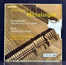 Arturo Benedetti Michelangeli Rachmaninov-Ravel Scarce EMI RCA English Press NM