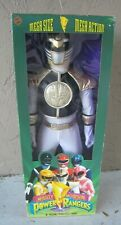 "1994 Mighty Morphin Power Rangers Gold Huge 36"" Poseable Mega Sized Figure MIB"
