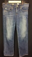 AG Adriano Goldschmied Jeans 27 Tomboy Crop Cropped Relaxed Straight Nice