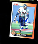 Mark Carrier Chicago Bears hand signed autographed 1991 Score football card!