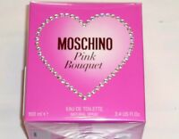MOSCHINO PINK BOUQUET 100 ml 3.4 US FL OZ Eau de Toilette NEW in BOX BNIB EdT