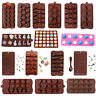 3D Silicone Chocolate Mold Candy Cookie Baking Fondant Mold Cake Decoration Tool