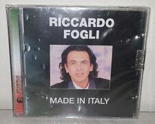 CD RICCARDO FOGLI - MADE IN ITALY - NUOVO NEW