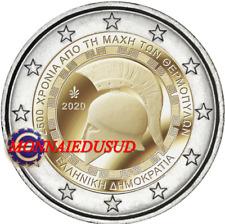 2 Euro Commémorative Grèce 2020 - Bataille de Thermopyle UNC NEUVE