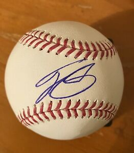 Autographed Baseballs Matt Duffy Tampa Bay Rays Autographed Baseball