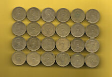 Greece D.SOLOMOS 20 drachma all mint dates 1990-200  24 coins.KM # 154.