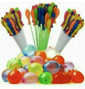 111 Bunch O Balloons Water Bombs Blaster Launchers Self Tying Sealing fill Pump