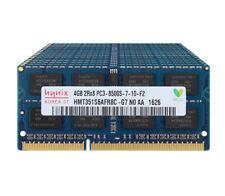 Hynix 10 un. 4GB 2RX8 DDR3 1066MHz PC3-8500S 204PIN Memoria Ram Para Computadora Portátil SO-DIMM #22