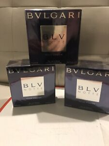 BLV Notte Pour Homme By Bvlgari Men Cologne EDT Spray 3.4 oz /100ml Discontinued