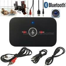 Bluetooth 4.1 Transmitter and Receiver Stereo Audio 3.5mm Adapter Music USB DM