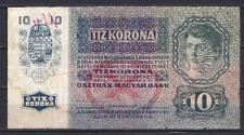 Autriche - Austria billet occasion de 10 kronen pick 19 Very Fine