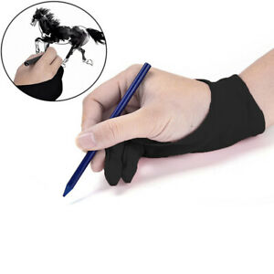 Artist Drawing Two Finger Glove Graphics Drawing Art Student Pen Tablet Pad