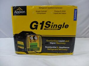 Appion G1SINGLE Refrigerant Recovery Machine