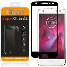SuperGuardZ® Motorola Moto Z2 Force Screen Protector [FULL COVER] Tempered Glass