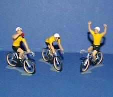 Cycliste miniature CBG Mignot Maillot Jaune - Ech 1/35 - Cycling figure