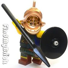 R9 Lego Roman Empire Gladiator Murmillo Thraex Secutor Custom Minifigure (M353)