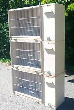 "3 X RH Cockatiel Parakeet Lovebird Breeding Cage 33""x18""x12 MULTIBUY OFFER!!"