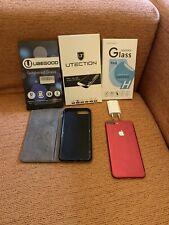 iphone 7 Red plus 128gb Con Regali Cover Pellicola
