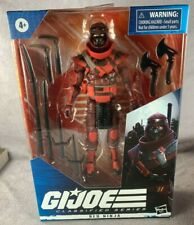 G.I. Joe: Classified Red Ninja Mint in Box BRAND NEW GIJoe 6""
