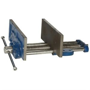 """8"""" BENCH VICE BOLT WOOD WORKING MOUNTING TO WORKSHOP TABLE 200mm WIDE CARPENTERS"""