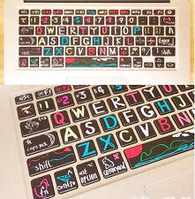 Macbook Air Pro Vinyl Sticker Decal keyboard Button Sticker Key Sticker 13''