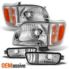 Fits 2001-2004 Tacoma Headlights +Corner+Bumper Signal Lights 02 03 Replacement