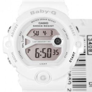 Casio Baby-G Womens Watch BG6903-7B  BG-6903-7BDR Digital White Free Post