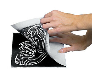 Inovart Scratch-Foam Board Printing Plates, 4 x 6 Inches, Pack of 100
