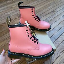 Women's Size 9 Dr. Martens 1460 Smooth Acid Pink Boots