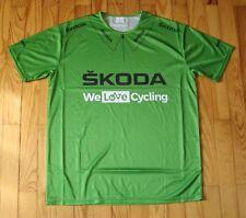 """Maillot vert SKODA """"We love Cycling"""" Tour de France 2018 PETER SAGAN collection"""