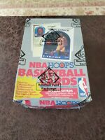 1989-90 Hoops Series 2 Wax Box BBCE Authenticated - Michael Jordan? Robinson RC?