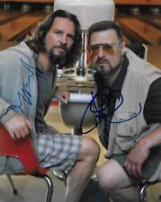 Jeff Bridges & John Goodman signed Big Lebowski Movie Actor Rare COA LOOK!!