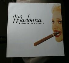 "MADONNA Deeper and Deeper 12"" Sire Maverick 40735-0 Vinyl Record  Germany RARE!"