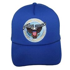 NEW Blue Trucker Cap Hat Men Sport Vintage Baseball Classic Snapback Hats Caps