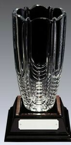 Bohemia Crystalite Glass Golf & Corporate Trophies FREE ENGRAVING