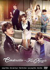 Cinderella and Four Knights Korean Drama (4DVDs) Excellent English & Quality!