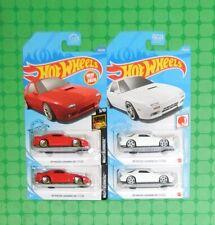 2021 Hot Wheels J-Imports - '89 Mazda Savanna RX-7 FC35 - x 4 - w/ 2020 Version