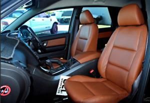 Genuine Ford SZ,SZ2 Territory 5  seater TAN leather trim covers